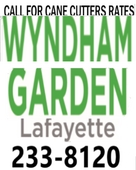 Wyndham Garden (Click Here for Cane Cutter Rates)